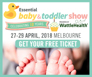 Essential Baby and Toddler Show 2018 Side Banner