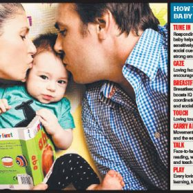 """Want a Brainy Baby? All you need is love"", The Herald Sun"