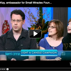 Pinky McKay, Ambassador for Small Miracles Foundation discusses pregnancy loss with Kerri Anne