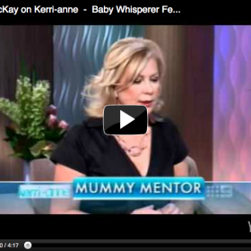 """Baby Whisperer"", Kerri-Anne, Channel 9"