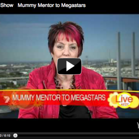 """Mummy Mentor to Megastars"", Morning Show, Channel 7"