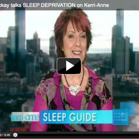 """Sleep Deprivation"", Kerri-Anne, Channel 9"