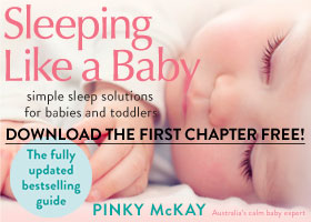 Sleeping Like a Baby Sidebar Banner