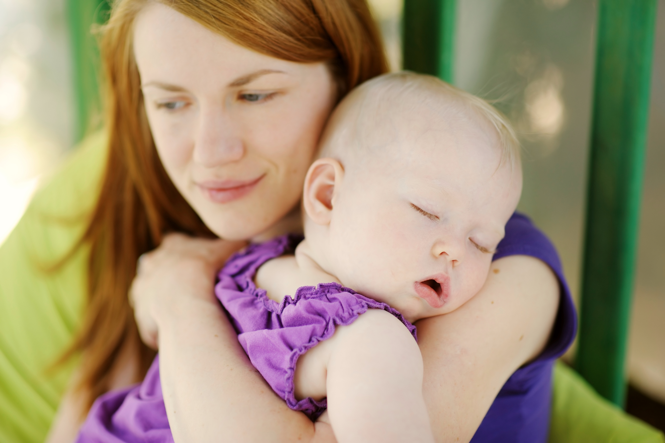 Quarrels of parents affect the sleep of infants