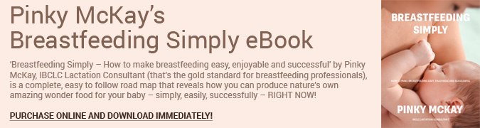Breastfeeding Simply eBook Banner