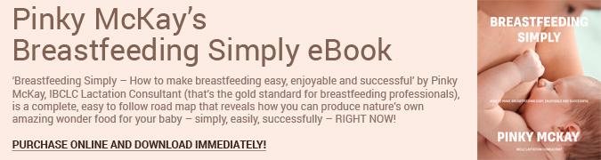 Breastfeeding Simply eBook Banner