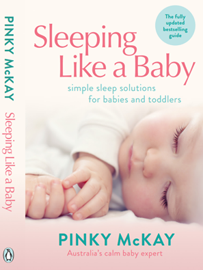 Help! My baby will only sleep in my arms – Pinky McKay